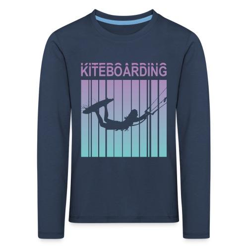 Kiteboarding - Kids' Premium Longsleeve Shirt