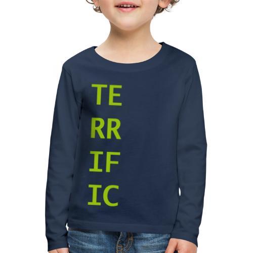 Terrific - Kinder Premium Langarmshirt