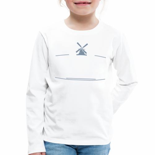 Medelby - Wo wir sind ist oben - Kinder Premium Langarmshirt