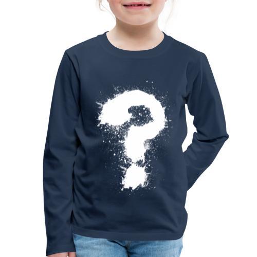 Fragezeichen - Kinder Premium Langarmshirt