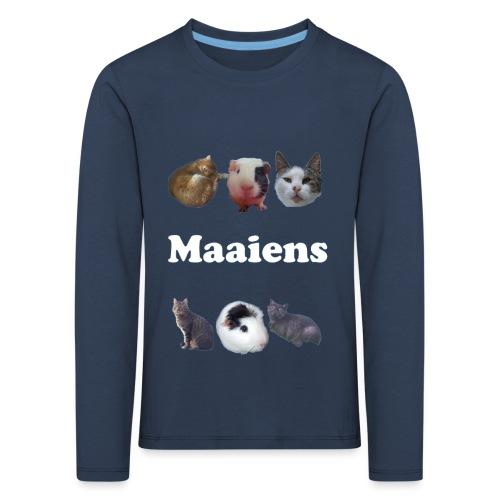 Maaiens! - Kinderen Premium shirt met lange mouwen