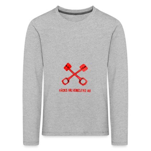 Bäcks bilverkstad - Långärmad premium-T-shirt barn