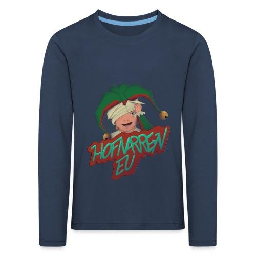 hofnarren_eu Twitch - Børne premium T-shirt med lange ærmer