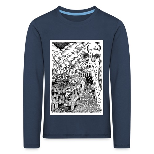 Sea Monsters T-Shirt by Backhouse - Kids' Premium Longsleeve Shirt