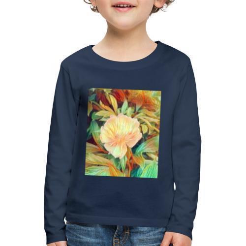 Flower - Kinder Premium Langarmshirt