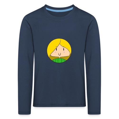 fille blonde - T-shirt manches longues Premium Enfant