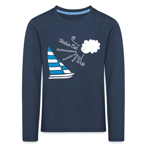 Hobie Shirt Wolke Neu - Kinder Premium Langarmshirt