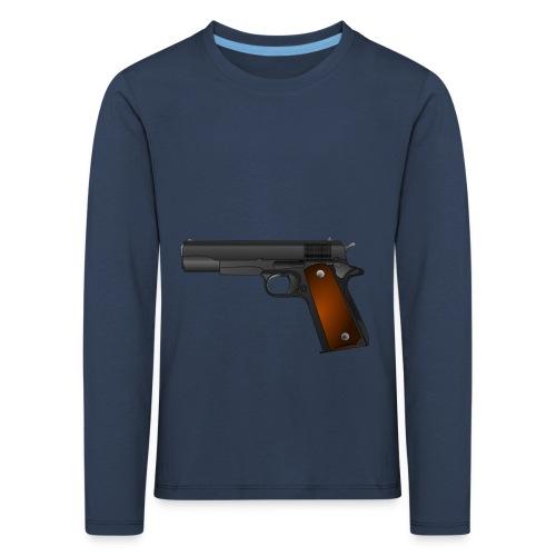 gun - Kinderen Premium shirt met lange mouwen