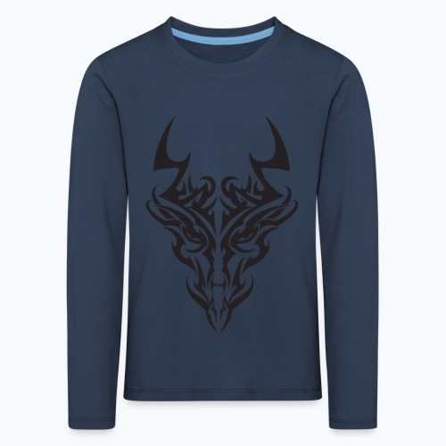 tribal dragon - T-shirt manches longues Premium Enfant