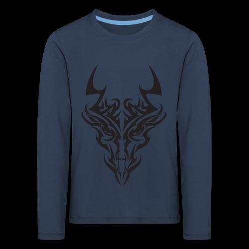 tribal dragon - T-shirt manches longues Premium Enfant