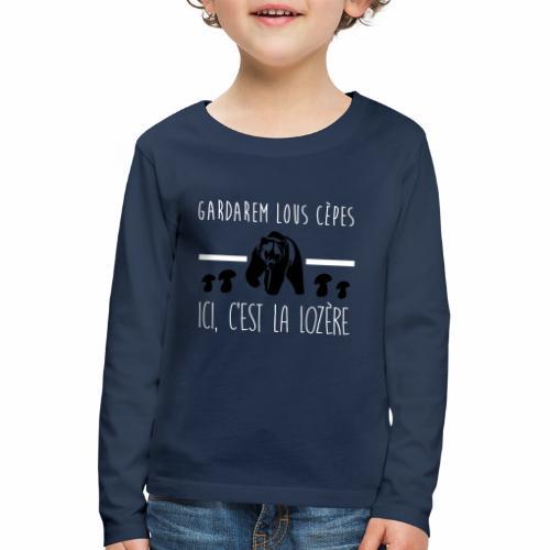 Gardarem Lous Cèpes Bicolore - T-shirt manches longues Premium Enfant