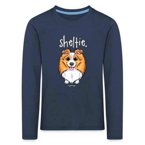 Sheltie Dog Cute 5 - Kids' Premium Longsleeve Shirt