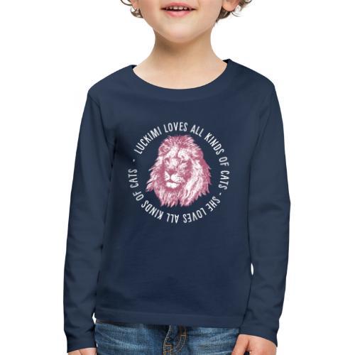 All kinds of cats - Barn - Kids' Premium Longsleeve Shirt
