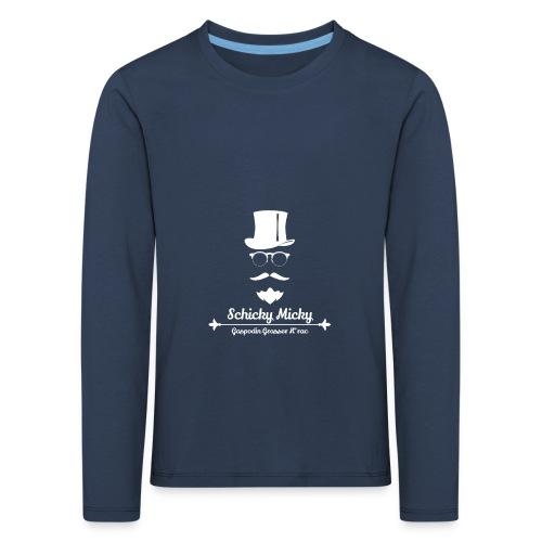 Schicky Micky Grosser K Weiss - Kinder Premium Langarmshirt