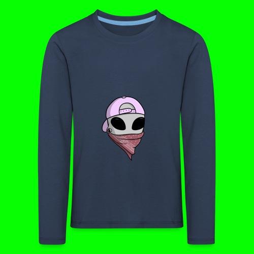 gangsta alien logo - Maglietta Premium a manica lunga per bambini