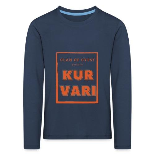 Clan of Gypsy - Position - Kurvari - Kids' Premium Longsleeve Shirt