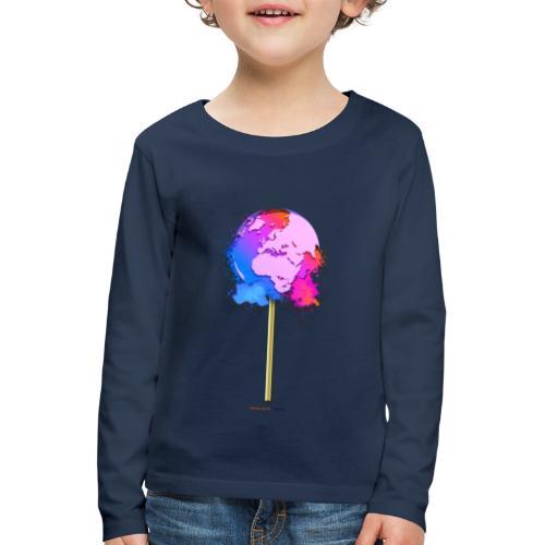 TShirt lollipop world - T-shirt manches longues Premium Enfant