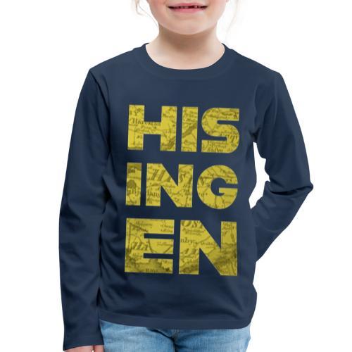 Hisingens Karta - Långärmad premium-T-shirt barn