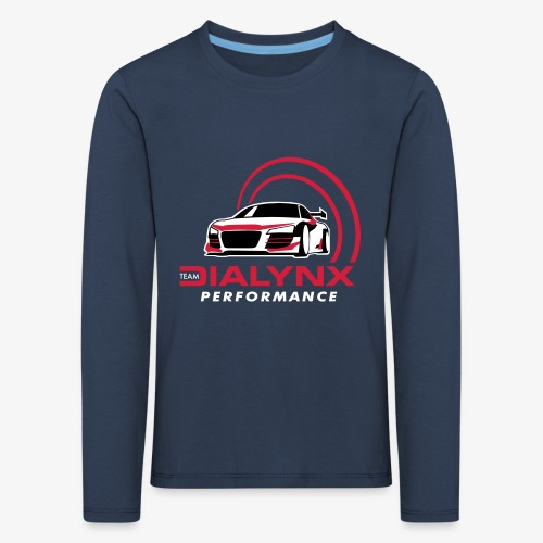 Dialynx Performance Race Team Dark Range - Kids' Premium Longsleeve Shirt