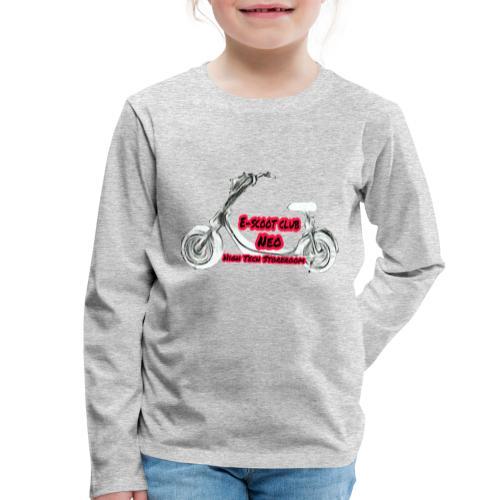 Neorider Scooter Club - T-shirt manches longues Premium Enfant