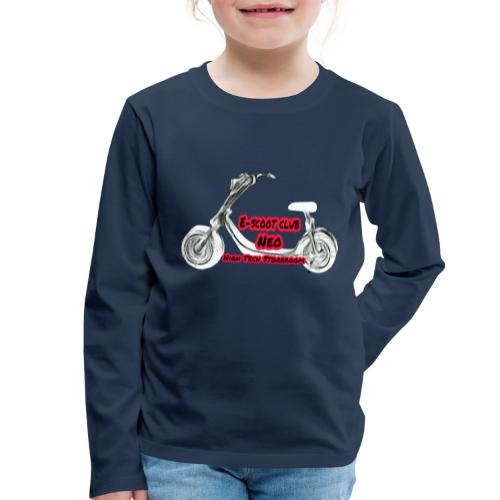 Neorider Scooter Club - T-shirt manches longues Premium Enfant