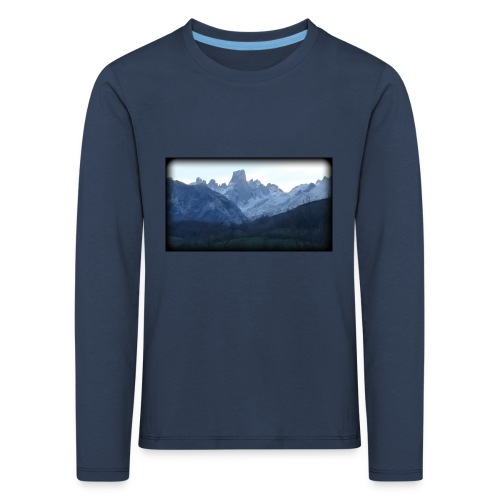 Estampa Naranjo de Bulnes - Camiseta de manga larga premium niño
