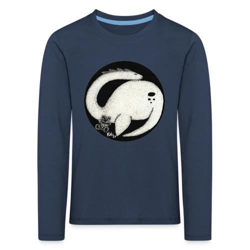 Nessie Durmiente (Monstruo del lago Ness) - Camiseta de manga larga premium niño