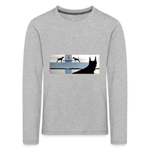 FBtausta - Lasten premium pitkähihainen t-paita