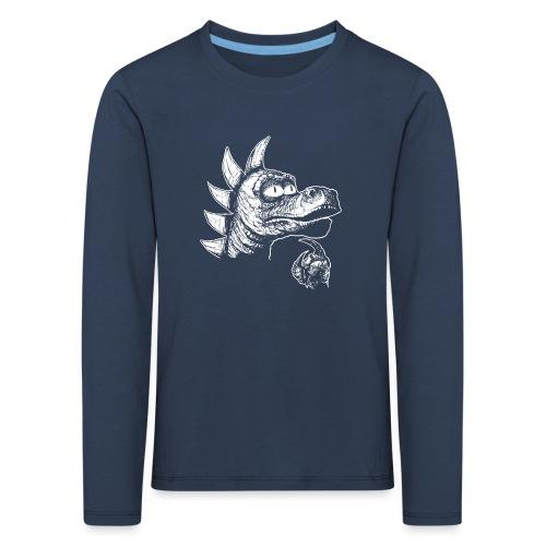 FILOZOSMOK - Koszulka dziecięca Premium z długim rękawem