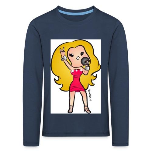 celine - Kinderen Premium shirt met lange mouwen