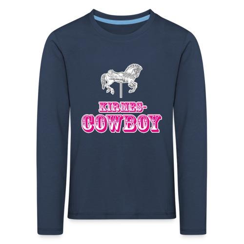 Kirmescowboy - Kinder Premium Langarmshirt