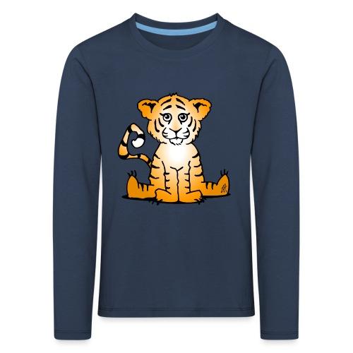 Tiger cub - Kids' Premium Longsleeve Shirt