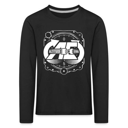 Altitude Era Altimeter Logo - Kids' Premium Longsleeve Shirt