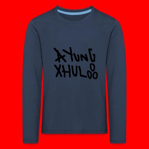 AYungXhulooo - Original - SloppyTripleO - Kids' Premium Longsleeve Shirt