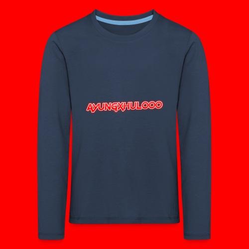 AYungXhulooo - Neon Redd - Kids' Premium Longsleeve Shirt