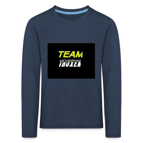 Truxenmerch - Långärmad premium-T-shirt barn