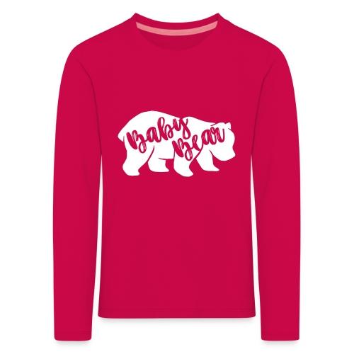 Baby Bear - für Eltern-Baby-Partnerlook - Kinder Premium Langarmshirt