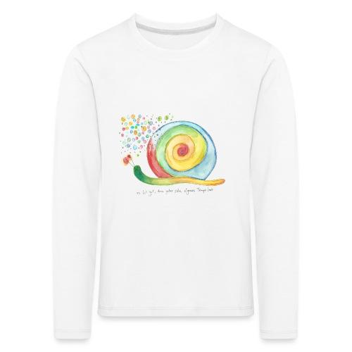 schnecke - Kinder Premium Langarmshirt
