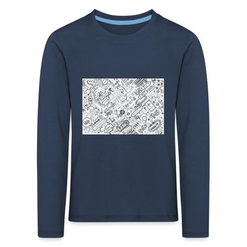 Doodle - Koszulka dziecięca Premium z długim rękawem