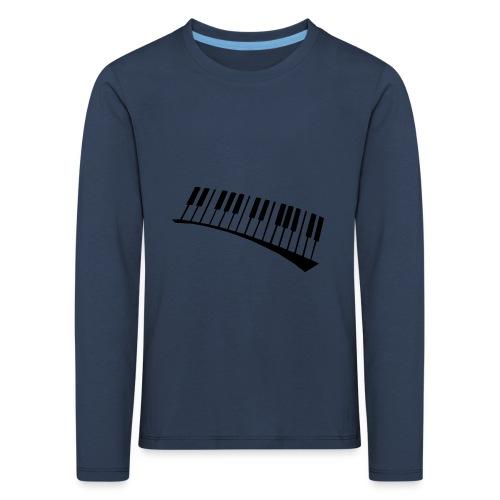 Piano - Camiseta de manga larga premium niño