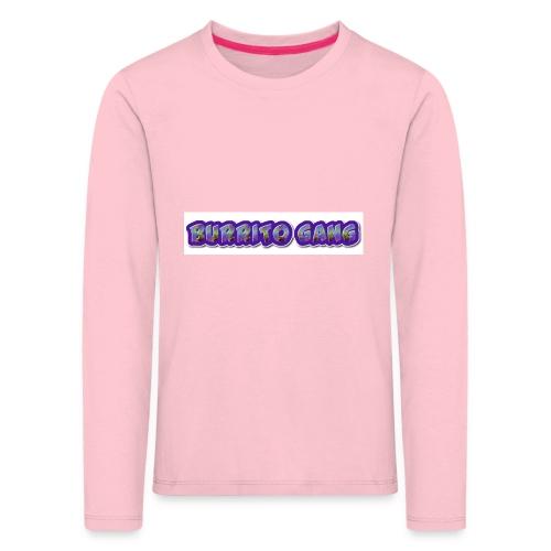 BURRITO GANG MALLISO - Lasten premium pitkähihainen t-paita