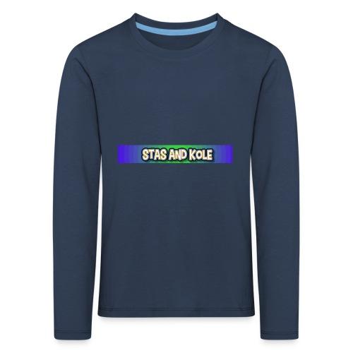 Shirt Logo - Kids' Premium Longsleeve Shirt