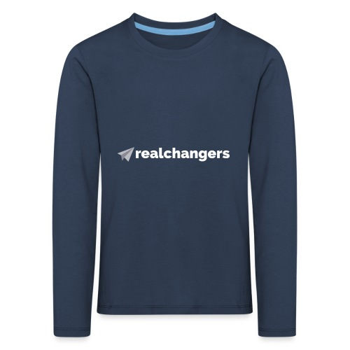 realchangers - Kids' Premium Longsleeve Shirt