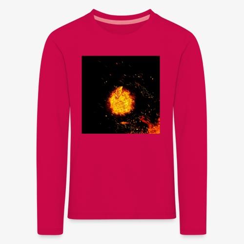 FIRE BEAST - Kinderen Premium shirt met lange mouwen