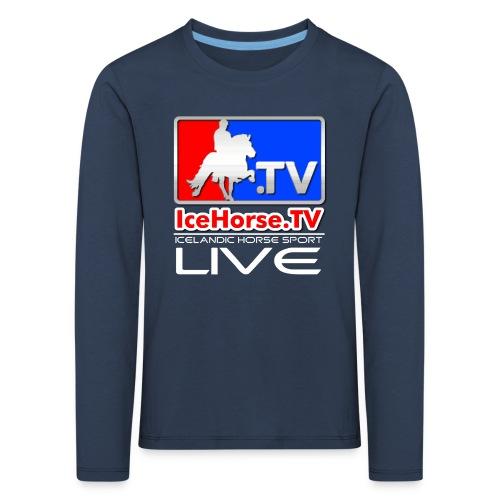 IceHorse logo - Kids' Premium Longsleeve Shirt