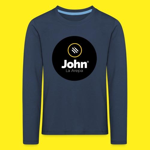 logo john - Camiseta de manga larga premium niño