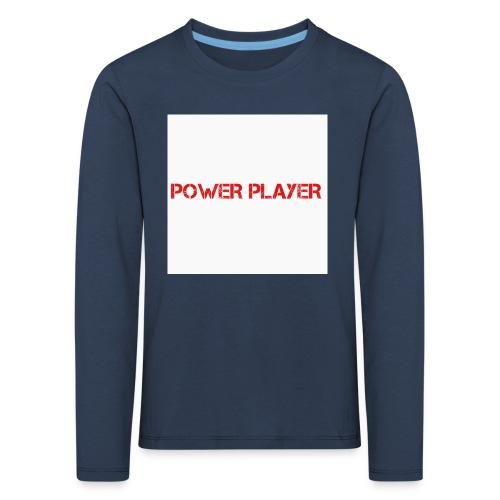 Linea power player - Maglietta Premium a manica lunga per bambini