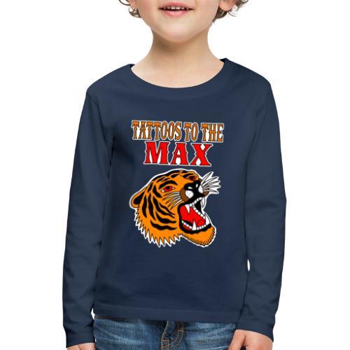 Tattoos to the Max - Tiger - Kinder Premium Langarmshirt