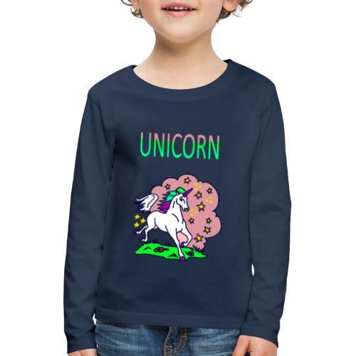 Einhorn unicorn - Kinder Premium Langarmshirt