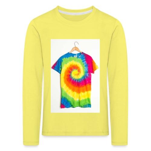 tie die small merch - Kids' Premium Longsleeve Shirt